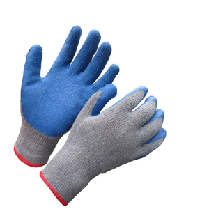 Cheap latex coated glove HKL655
