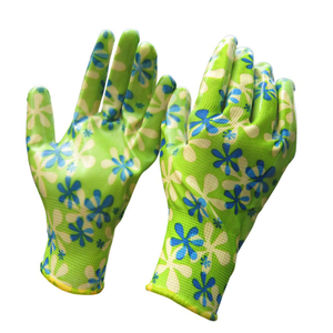 wholesale Ladies Nitrile Garden Gloves HNN348