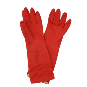 Extra long household latex gloves HHL506