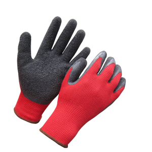 Latex coated glove with 10 gauge liner HKL610