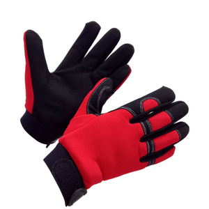 Synthetic Leather Palm Mechanic Gloves