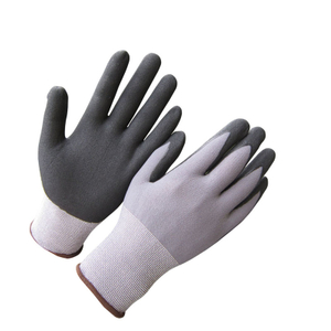 Ultra thin micro foam nitrile gloves HNN460