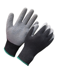 10G cotton liner latex coated glove HKL622