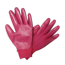 Coloful Nitrile coated gardening gloves HNN578