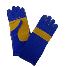Double palm leather welding gloves HLW630